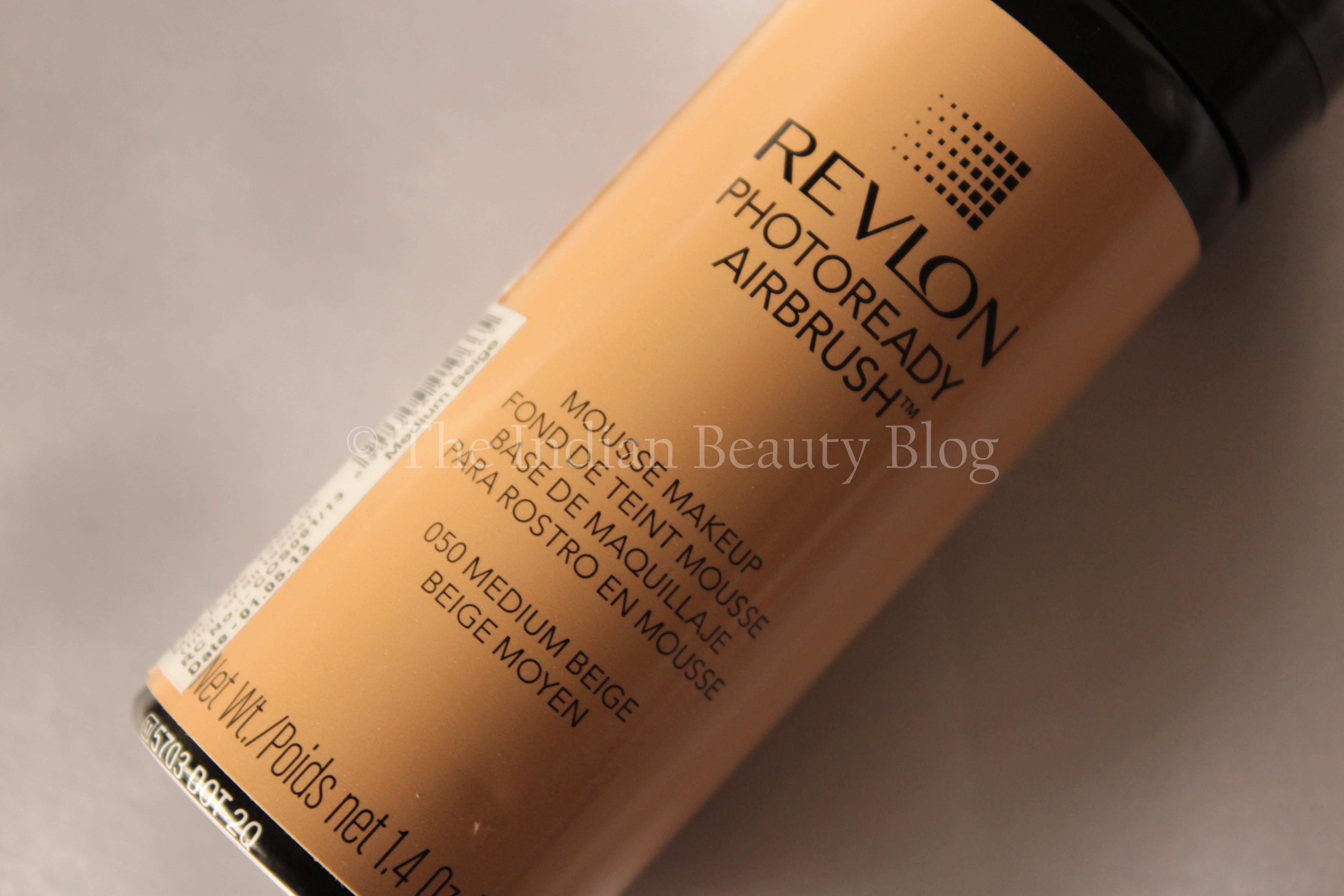 Revlon Phtoready Airbrush Foundation